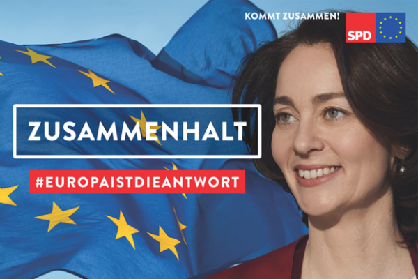 Kommt zusammen und macht Europa stark!