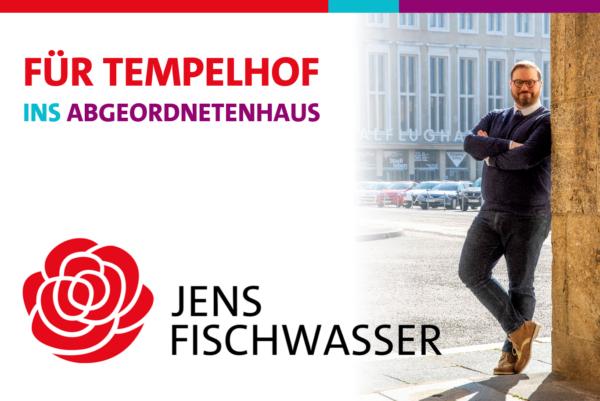 Jens Fischwasser für Tempelhof